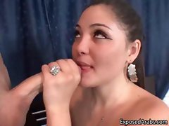 Slutty Turkish whore loves sucking part1