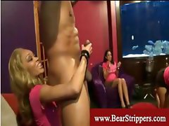 Cfnm ladies cant get enough of strippers cock