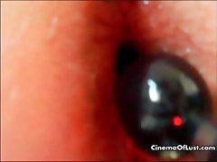 Close up sex action of an amateur couple part4
