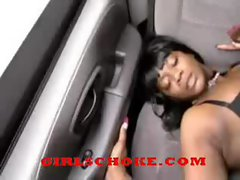 black hood ghetto black freaky hoe had 2 hold on when hood shaft banged
