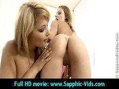Sensual 19yo Lesbo Cute chicks Love Oral Sex - Sapphic Erotica 15