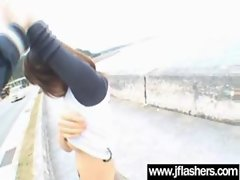 Asian Models Flashing Knockers And Getting Banged vid-20