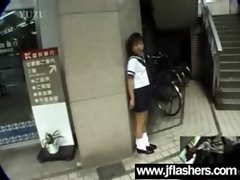 Asian Randy chicks Flashing Knockers And Getting Shagged vid-12
