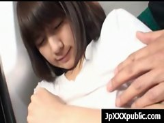 Filthy 19yo Jap randy chicks Fuck In Public video-18