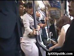 Lewd 18yo Sensual japanese dirty ladies Fuck In Public video-20