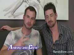Gay clips of Andrew and Chris banging gay sex