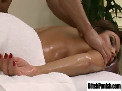 Filthy Bigtits Models Get Banged By Masseur clip-14