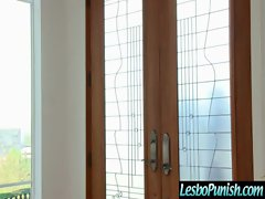 Filthy Lesbos Get Punish With Toys clip-14