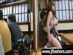 Asian Ladies Flashing Knockers And Getting Grinded vid-27