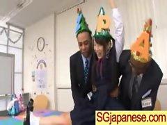 Sensual japanese Lassie In School Uniform Get Sex vid-17