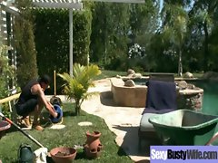Big titted Filthy Cougar Get Fucked Brutal clip-30