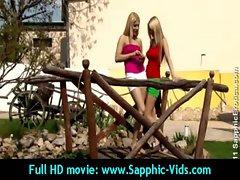 Luscious 18yo Lez Cute chicks Love Oral Sex - Sapphic Erotica 25