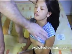 Felicity Filipino Slender Sassy teen 18+ Amateur Jizzed On Face Graceful Bum