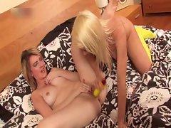 Two alluring and whorish ladies having fun