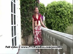 Anna tender luscious young woman naked outdoor