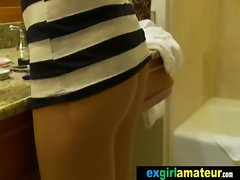Amateur Slutty girl Young woman Get Nailed Brutal vid-36