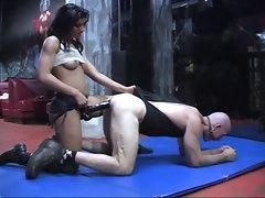 She banged chap brutal
