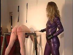 Owk Madame Christina cropping slave
