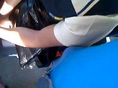 arm grope