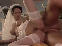bride foursome sex backdoor dp