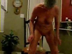 This grandma is absolutely a slut. Amateur Elder