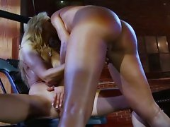 Wild Lesbo Orgy - Seductive Breasts