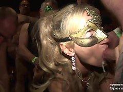 Sperma-Studio: Cum i. mouth + creampie - Natascha u. Luna P1