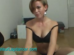 Superhot lapdance show by tattooed czech gal