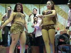 arab hijab wedding dance