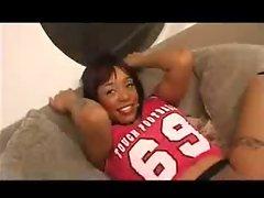 Lustful ebony Nakita