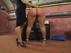 Her Big Round Succulent Dirty ass Gets Spanked!!!!!!!
