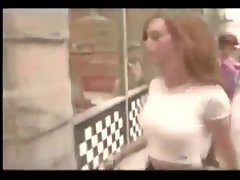 18yo Jennifer Love Hewitt Knockers Bouncing Narrow White Shirt