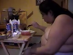 ALMA SMEGO FAT NAKED SLUT OF A GLUTTONOUS PIG