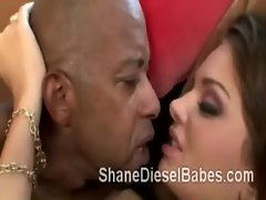 Shane Diesels massive dong makes busty MILF Nika Noir squeeze