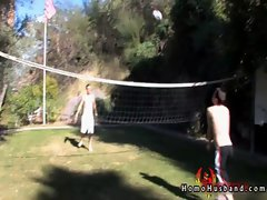 Dustin and joey outdoor fucking gay sex
