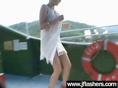 Asian Flashing And Banging Hard video-23