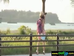 Outdoor Sexy Teen Asian Get Nailed video-31