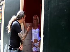 Stockings real dutch whore gets fucked
