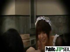 Nasty Asian Girl Get Hard Sex Outdoor clip-30