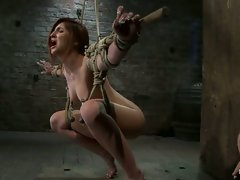Fiery Lexi likes to give up control and let others play with her body