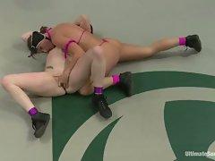 Rowdy Ariel Carmine takes on this sizzling slut