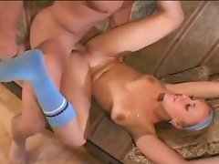 Nasty Tianna Lynn gets the fuck of a lifetime while flat on her back.