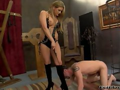 Nasty bitch Tory Lane dominates this stupid prick