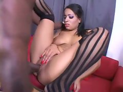 Alina Love is an ebony goddess who gets fucked in her juicy pussy