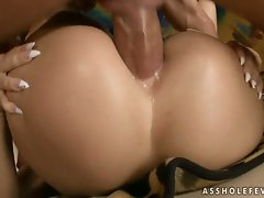 Nah, that dick doesn't hurt my ass! Aleta Ocean butt riding a big boner