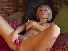 Sexy Hanna Hilton loves her playing with her toys in her hot wet pussy.
