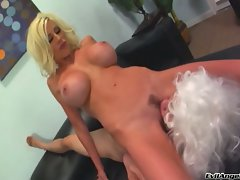 Puma Swede like the tongue deep in her pussy