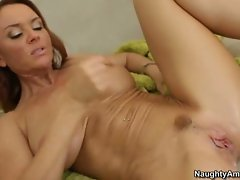 Janet Mason squirt cum after a hard cock drill