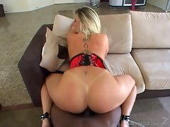 Dark dick lover Sara Jay her tight cunt pounded