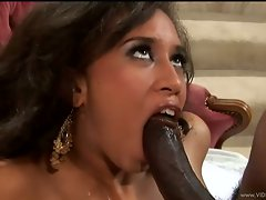 Aurora Jolie deep throat black dick penetration